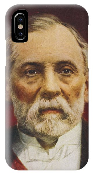 Louis Pasteur (1822 - 1895) French Phone Case by Mary Evans Picture Library