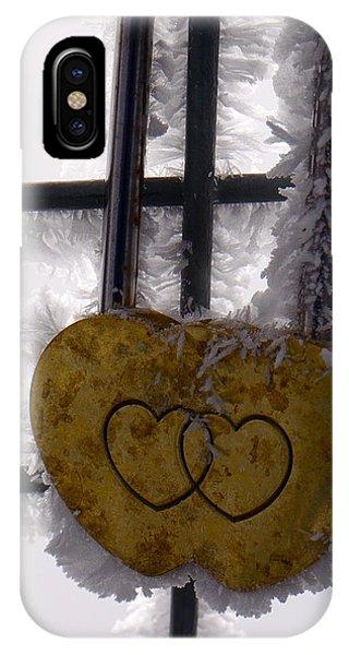 Love Locked Jungfraujoch IPhone Case
