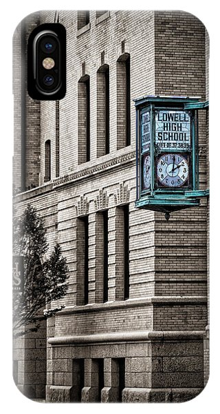 Lowell High School IPhone Case
