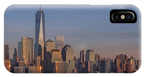 Lower Manhattan Skyline IPhone Case