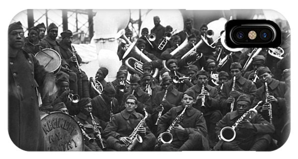 Harlem iPhone Case - Lt. James Reese Europe's Band by Underwood Archives