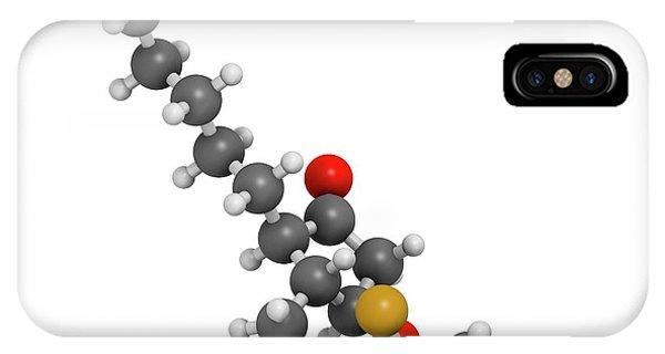 Chronic iPhone Case - Lubiprostone Chronic Constipation Drug by Molekuul