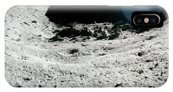 Spaceflight iPhone Case - Lunar Landscape by Nasa/detlev Van Ravenswaay