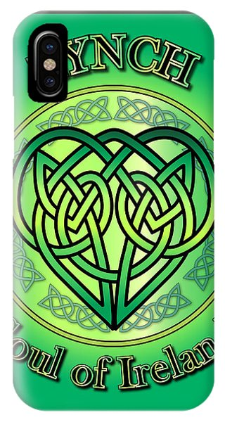 Lynch Soul Of Ireland IPhone Case
