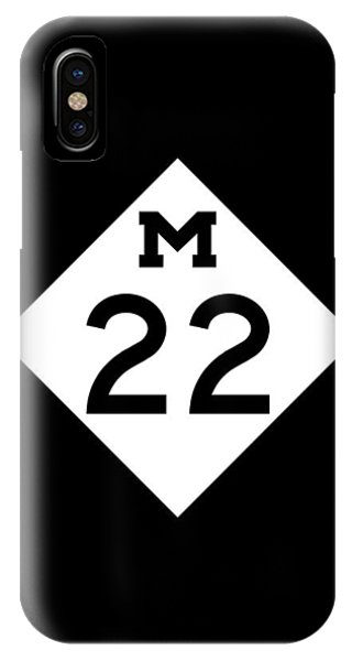 M 22 IPhone Case