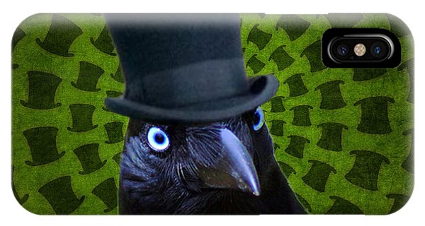 Mad Crow IPhone Case