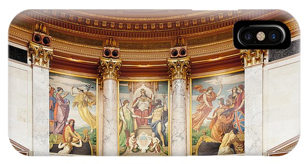Murals In The Capitol - Madison IPhone Case