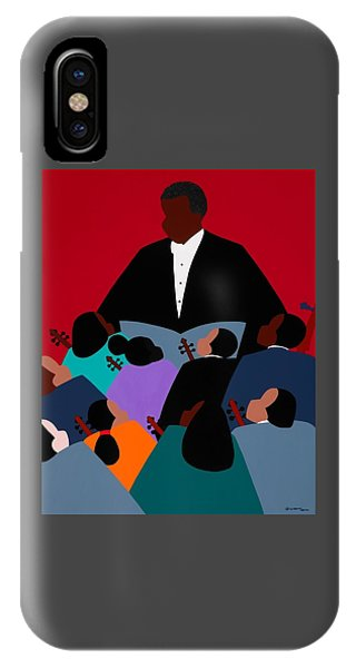 iPhone X Case - Maestro by Synthia SAINT JAMES