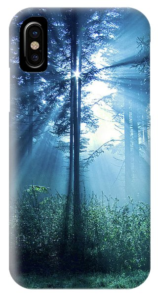 Spirituality iPhone Case - Magical Light by Daniel Csoka