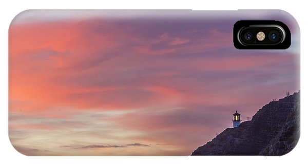 Makapuu Lighthouse 3 IPhone Case