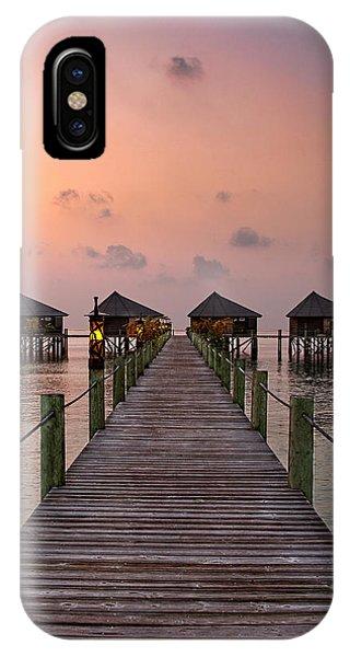 Maldives Sunrise IPhone Case