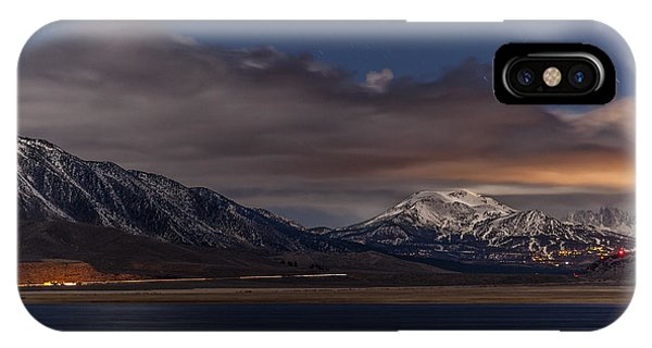 Mammoth At Night IPhone Case