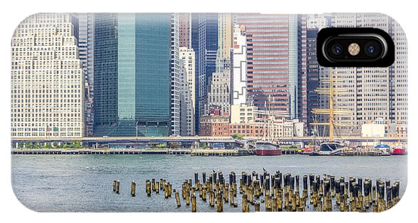 Manhattan On The East River IPhone Case