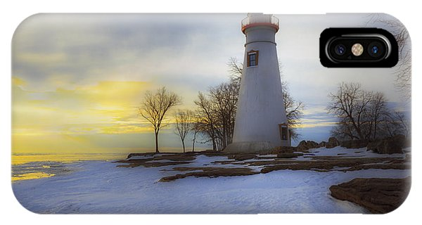 Marblehead Lighthouse Lake Erie IPhone Case