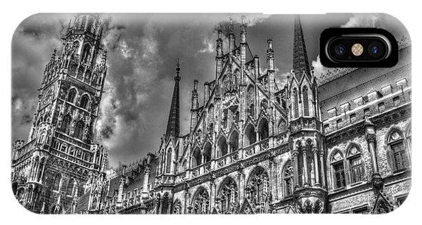 Marienplatz In Munich IPhone Case