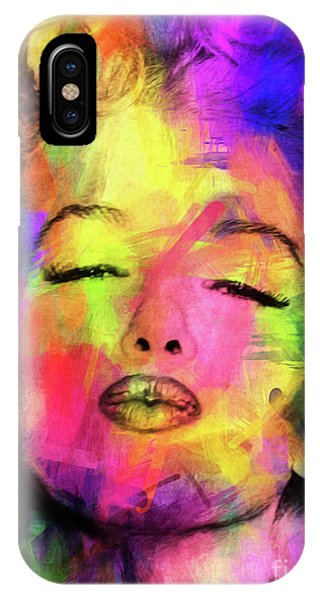 Dive iPhone Case - Marilyn Monroe by Mark Ashkenazi