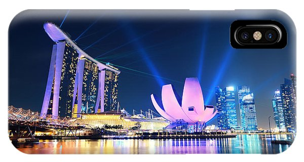 Marina Bay Sands IPhone Case