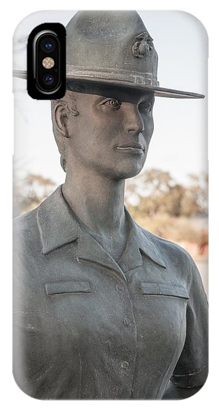 Marine Drill Instructor IPhone Case