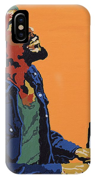 Marvin Gaye IPhone Case