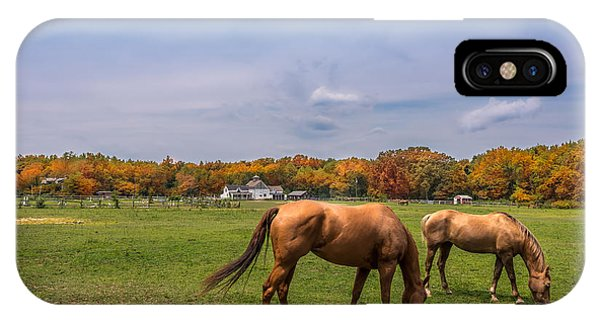 Maryland Pastures IPhone Case