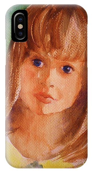 Mary's Little Girl IPhone Case