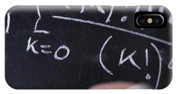 Mathematical Equation Phone Case by Tek Image