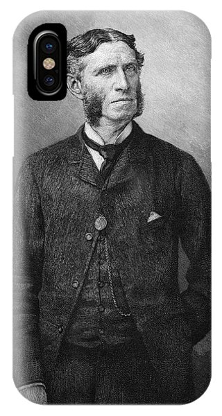 Matthew Arnold  Writer And Critic Phone Case by Mary Evans Picture Library