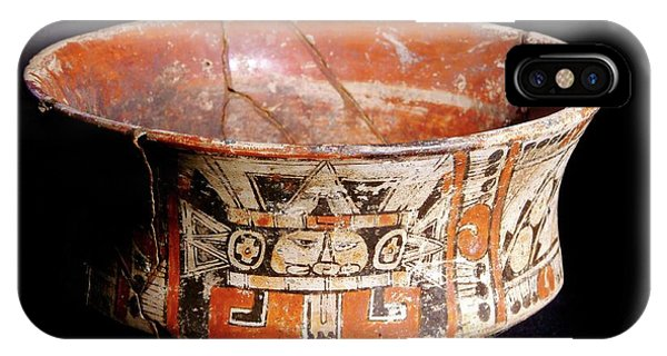 Mayan Vase Phone Case by Pasquale Sorrentino/science Photo Library
