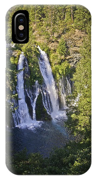 IPhone Case featuring the photograph Mcarthur-burney Falls by Sherri Meyer