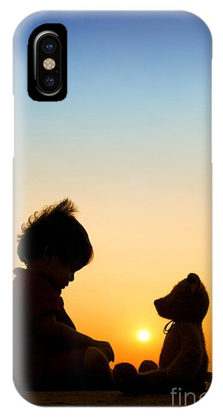 Me And My Bear IPhone Case