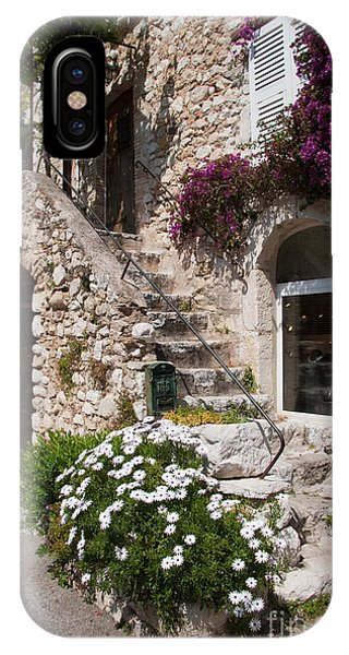 French Riviera iPhone Case - Medieval Saint Paul De Vence 3 by David Smith
