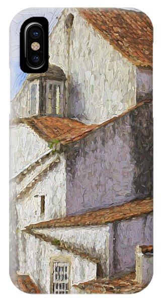 Medieval Village Of Obidos IPhone Case