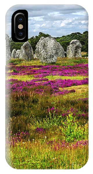 Megalithic Monuments In Brittany IPhone Case