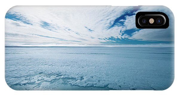 Melting Arctic Sea Ice Phone Case by Louise Murray/science Photo Library
