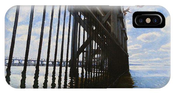 Memories Of Brighton-le-sands Baths Phone Case by Jon Falkenmire