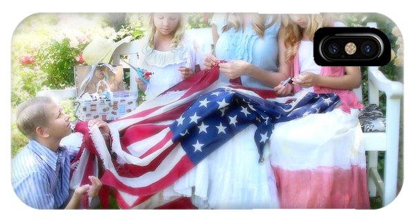 Mending Liberty IPhone Case