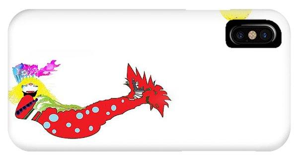 Mermaid 2 IPhone Case
