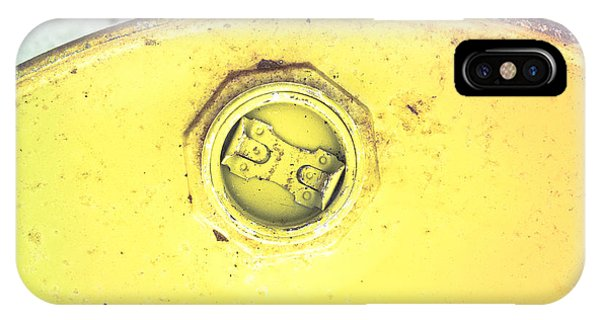 Flammable iPhone Case - Metal Can by Tom Gowanlock