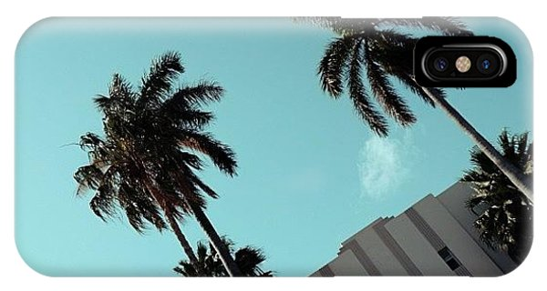 Iger iPhone Case - {miami Beach's Art Deco}  In 1979 by Joel Lopez