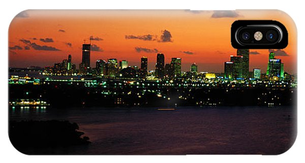 Port Orange iPhone Case - Miami, Florida, Usa by Panoramic Images