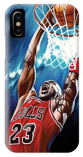 Michael Jordan Artwork IPhone Case