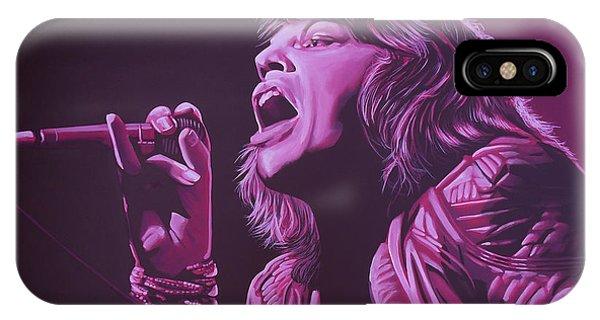 Popstar iPhone Case - Mick Jagger 2 by Paul Meijering
