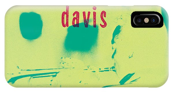 Trumpet iPhone X Case - Miles Davis -  Blue Moods by Concord Music Group