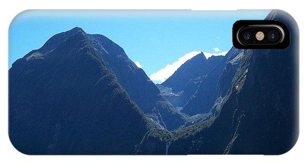 Milford Sound Waterfall II IPhone Case