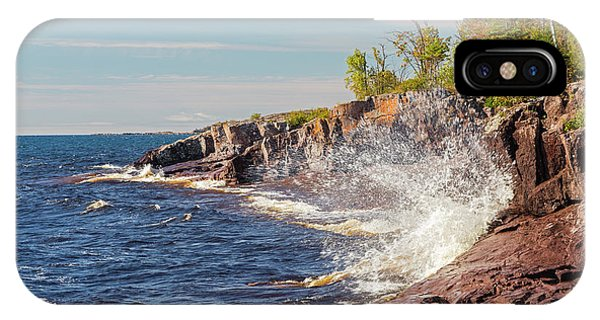 Lake Superior iPhone Case - Minnesota, Temperance River State Park by Jamie and Judy Wild