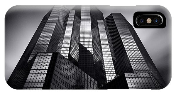 Buildings iPhone Case - Mirrors by Sebastien Del Grosso