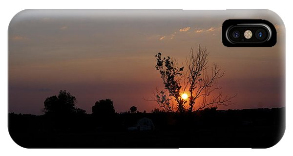 Missouri Sunset IPhone Case