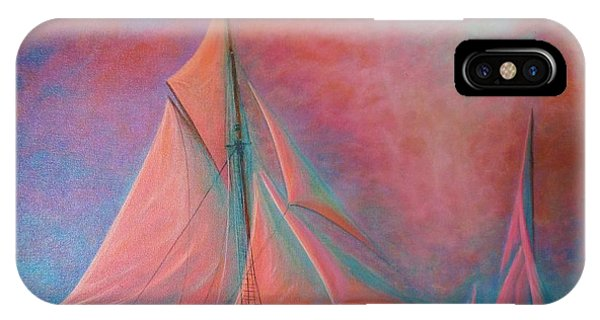 Misty Bay IPhone Case