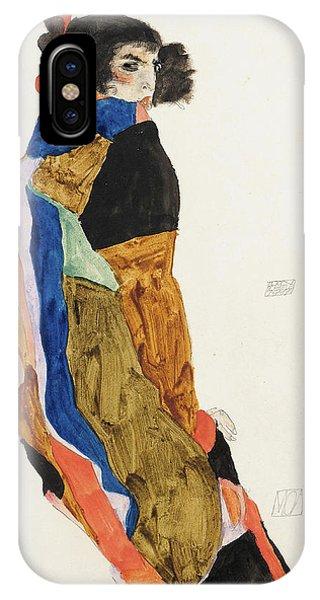 Impressionistic iPhone Case - Moa by Egon Schiele