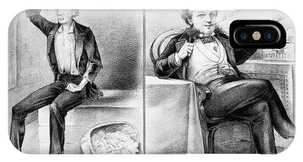 Debts iPhone Case - Money Lending, 1870 by Granger